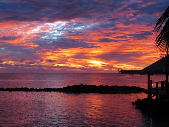 sunset samoa, manoa tours samoa, sunset sessions